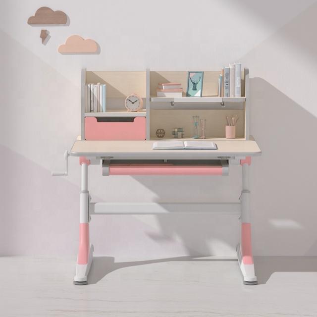 IGROW portable study desk,wooden study desk,small study desk