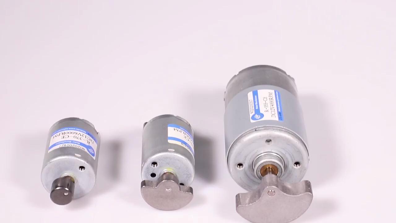 Powerful dc motor 12v 775 60w 4000rpm 800rpm 24v vibration motor for massager vibrator