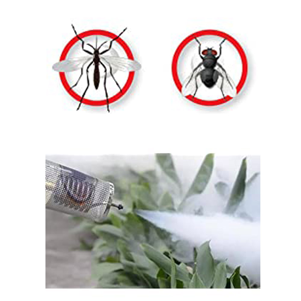 Handheld Mini ULV Thermal Fogger Propane Insect Fogger for Killing Repelling Mosquitoes Flies and Flying Insects Outdoors