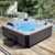 6 person use acrylic whirlpool outdoor hydrotherapy spa bath hot tub