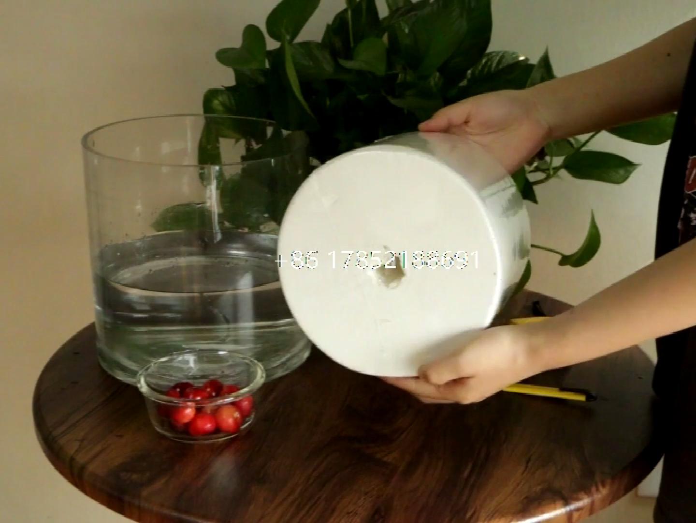 SUPER DOUX non blanchi vierge en pâte de bois à dévidage central main serviette en papier de soie prix du produit en gros