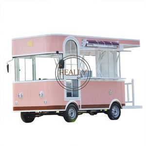 Electric Fast Food Van For Sale | Mobile Truck | Vending Car