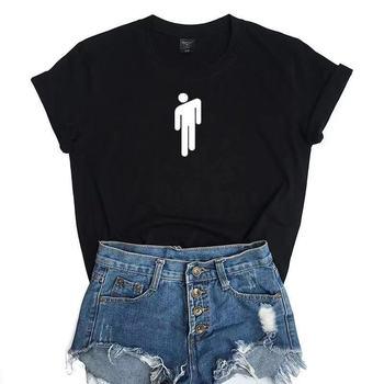 Hot Selling Billie Eilish Cotton Short Sleeve T Shirt Buy Hot Selling Billie Eilish Cotton Short Sleeve T Shirt Product On Alibaba Com