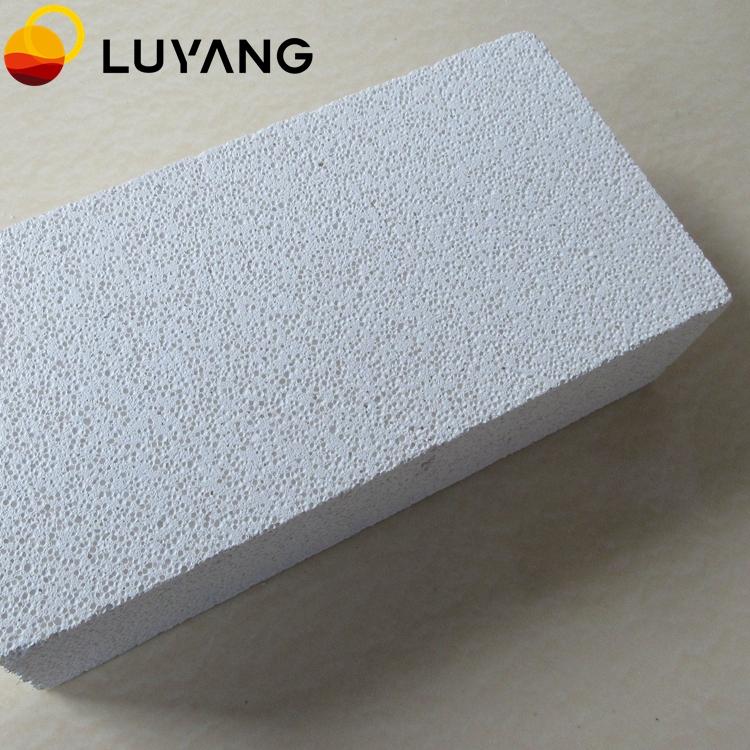 LUYANG LYMZ Mullite insulating brick / alumina insulation firebrick 23/26/28/30/32