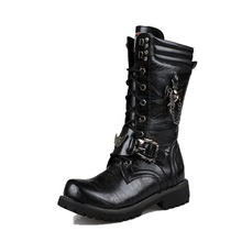 L'hiver <span class=keywords><strong>chaussures</strong></span> Américain western <span class=keywords><strong>cowboy</strong></span> <span class=keywords><strong>bottes</strong></span> hommes