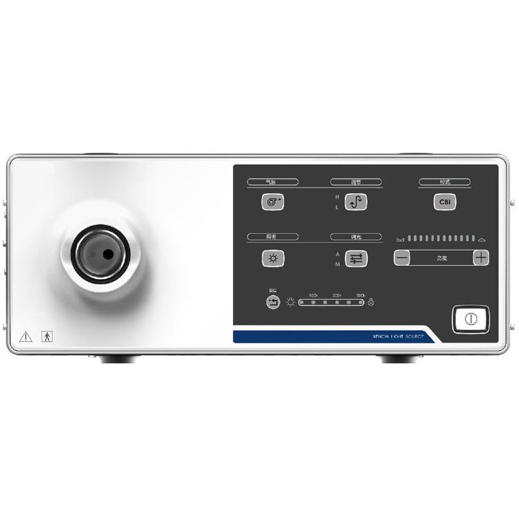 Flexible endoscope imaging processor portable endoscope gastroscope with medical monitor