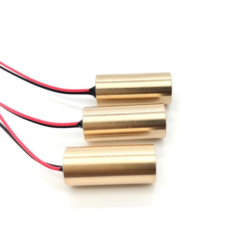 תעשייתי אדום לייזר דיודה מודול קו לייזר מודול 635nm 650nm 1mW 5mW 10mW 100mW