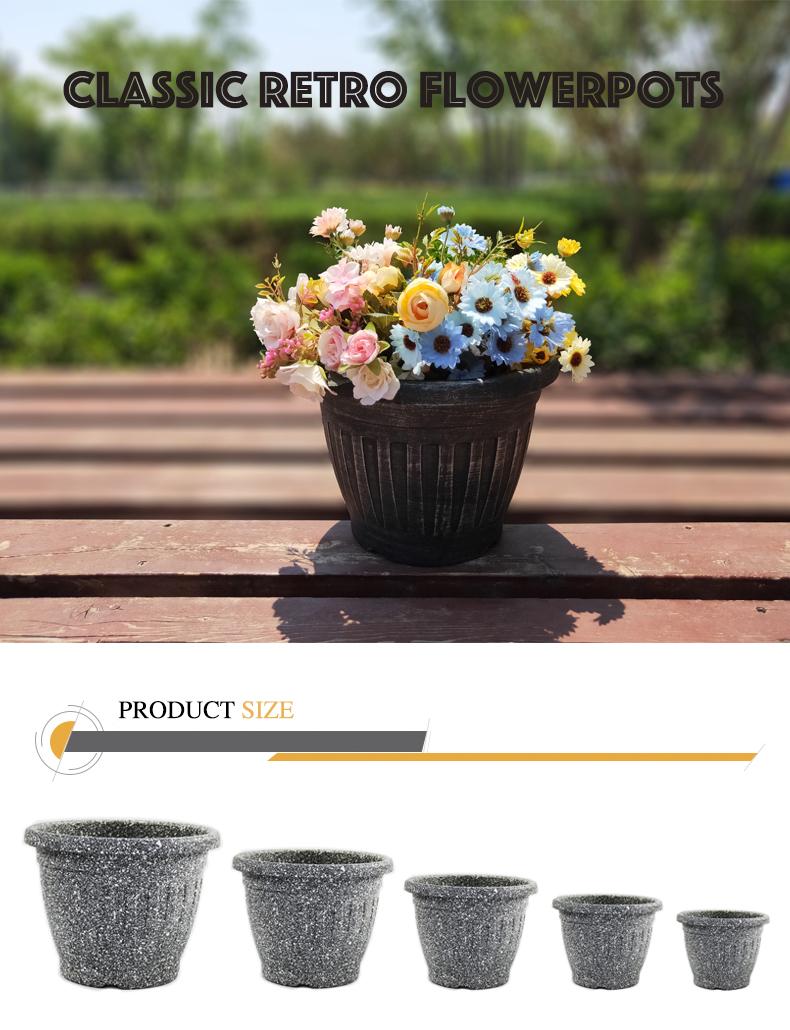 Nhà Máy Giá Vòng COLOFUL Vườn Nhựa Giá Rẻ Chậu Hoa Cho Bán