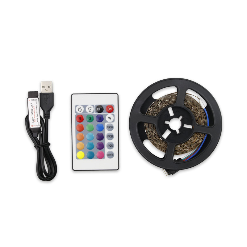 Top Selling LED Light Strip SMD 2835 RGB Waterproof LED Strip Light with Remote