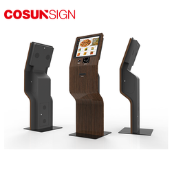 2020 new patent indoor touch screen smart digital sign display kiosks