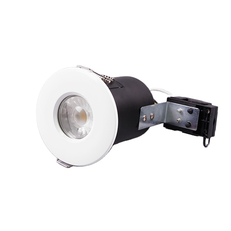 75mm cut out IP65 IP65 fire rated safe led down lights fittings shower fireproof bathroom led downlights fire rated downlight