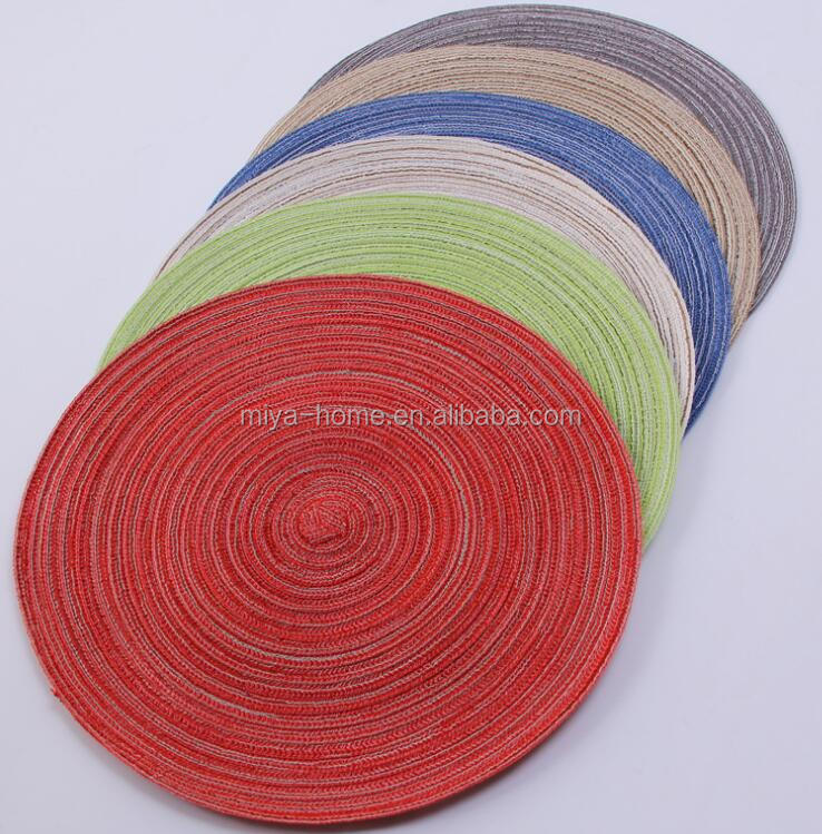 Grey Nordic coil coasters / thickened heat insulation pads / non-slip and ironing pads