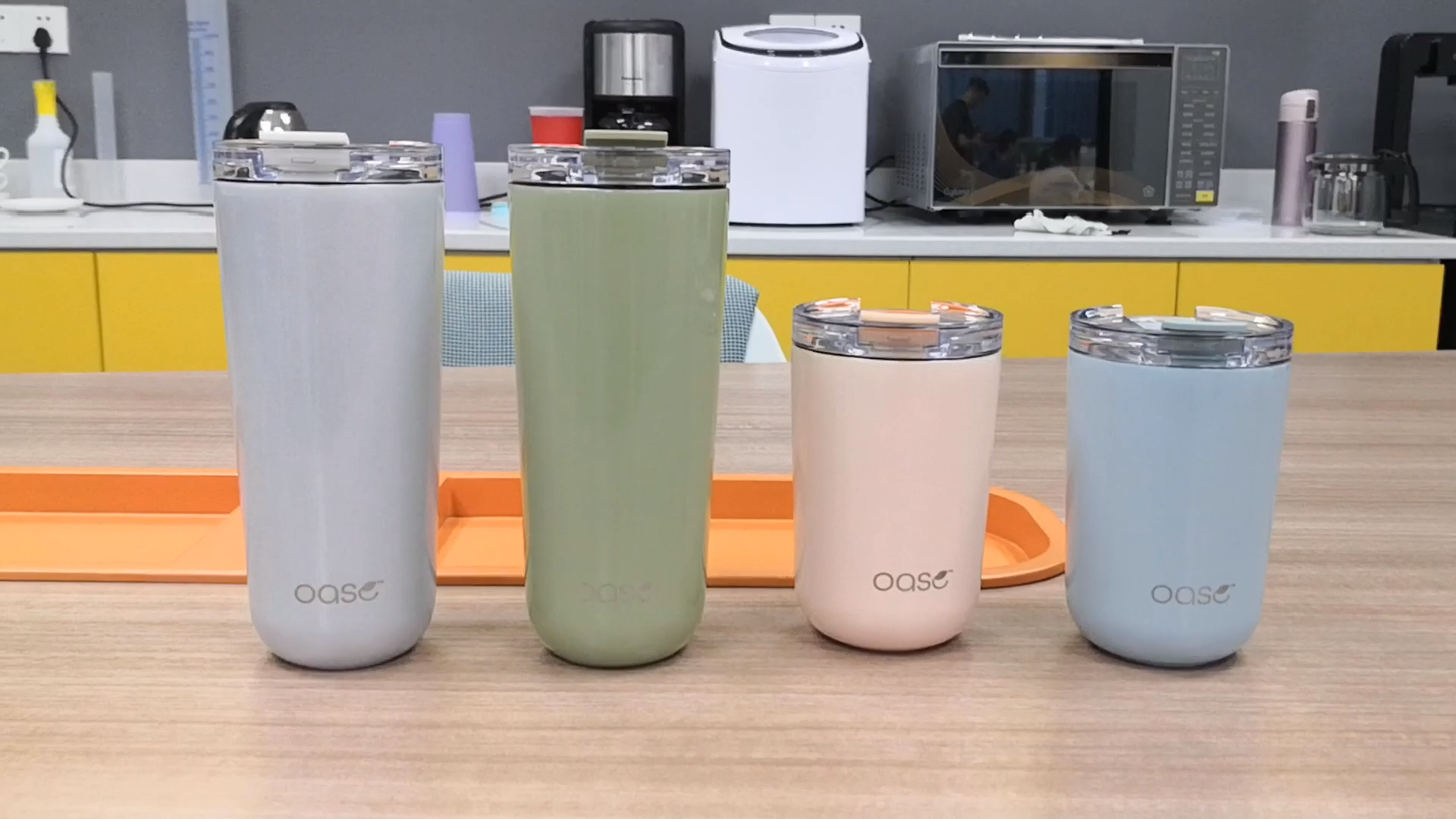 New Arrival Fashion Design Stainless Steel Double Walled Insulates  Coffee Tumbler