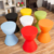 Modern baby low plastic storage stool chair
