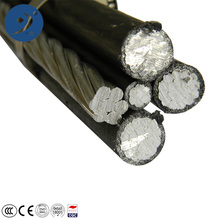 600v aluminio conductor xlpe/single core/2x16/abc cable 4 core 16mm cable para venta