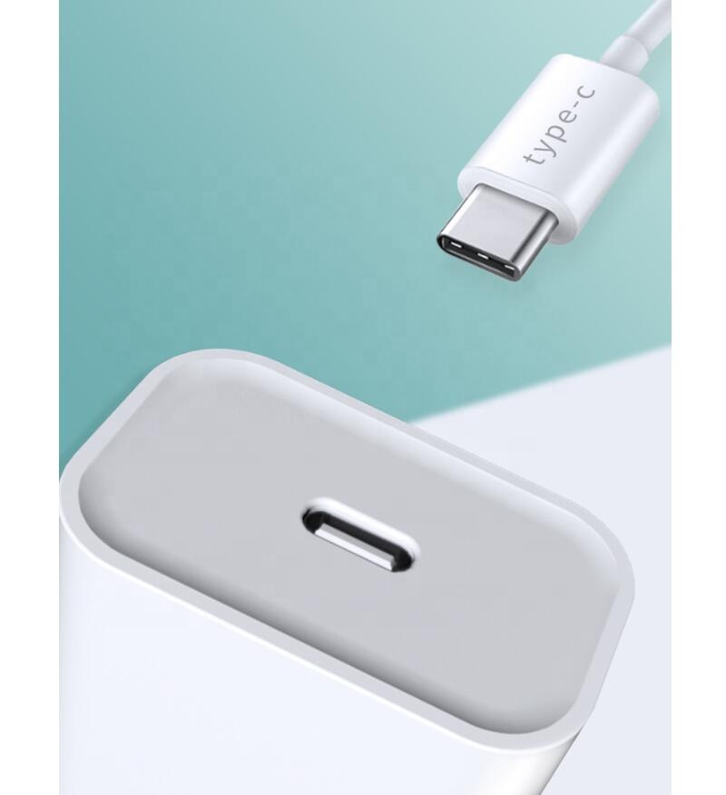 LAIMODA 2020 New USB Type C Wall Charger 18W PD Charger adapter for Phone 11 Pro Max Xs Max XR X 8 Plus Samsung