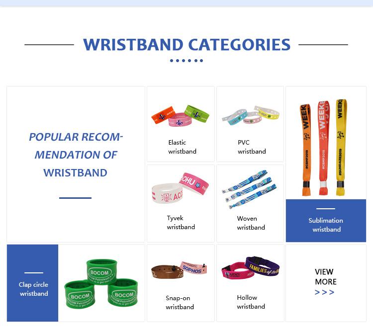 2019 vendita calda eco-friendly cicret smart festival wristband di sport