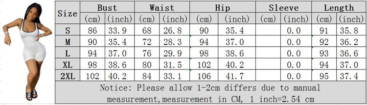 0060319 Fashionable New Design Solid Color Sportswear Skinny Short Romper Jogger Bodycon Summer Women One Piece Jumpsuit