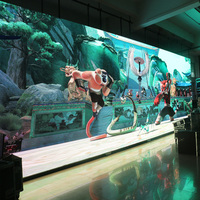 Customize Screen Dimension P3.91 transparent led screen