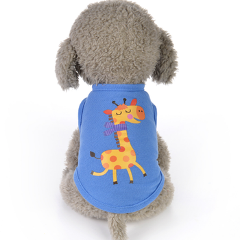 Hot pet clothes factory wholesale puppy clothes custom made dog coats dog t shirts for aduits