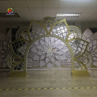 New Design Two Sides Flexible Gardenia Arch Wedding Backdrop For Wedding & Party &Banquet Decoration from Events