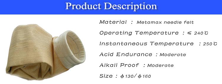 Orta fiyat toz ayırıcı filtre torbası s, polipropilen filtre torbası, filtre toz torbaları kimya endüstrisi için.