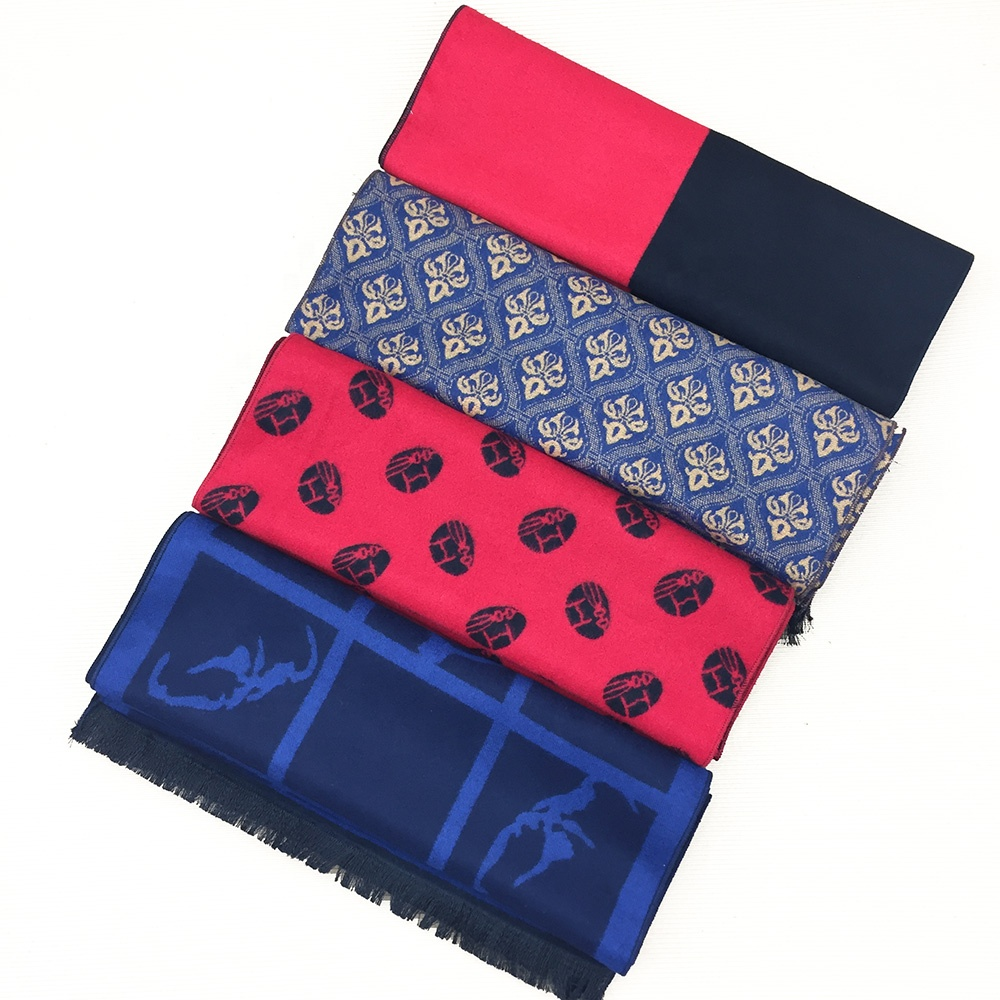 High Quality Brushed Mens Custom Polyester Viscose <strong>Scarf</strong>