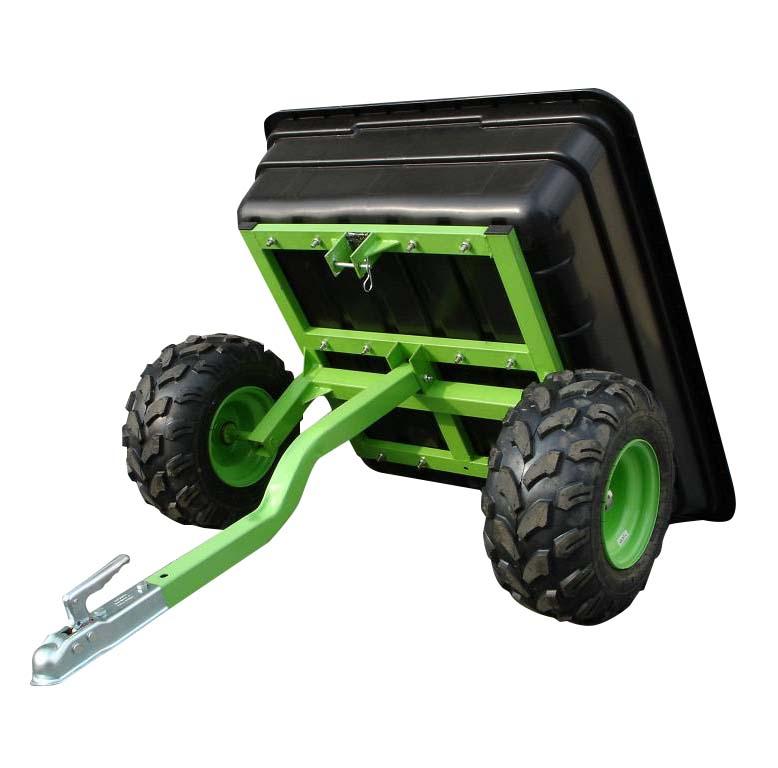 Giardino della fattoria migliore cargo ATV utility dump rimorchio