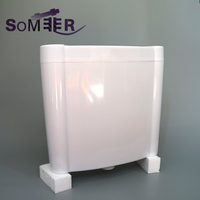 Sanitary ware products toilet wall mounted tank toilet cistern tank
