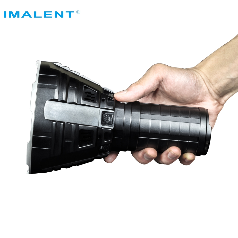 IMALENT R90C Led Flashlight <strong>CREE</strong> XHP35 HI LED 20000 Lumens 1679 Meters Torch Flashlight with Battery for Outdoor Search