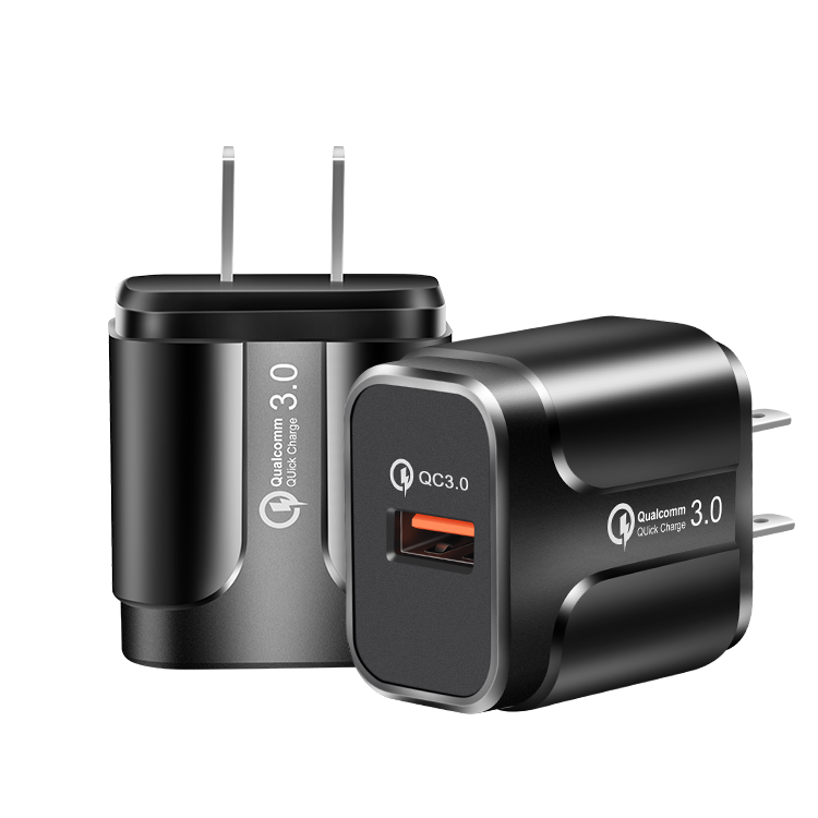 UNIONUP New Arrival QC3.0 Fast Wall Charger Adapter for Phone , EU US UK Plug Quick Charge 3.0 Travel / Wall charger
