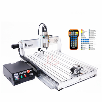 8060Z-USB 3axis 4axis 2.2KW cutter router cnc wood carving machine