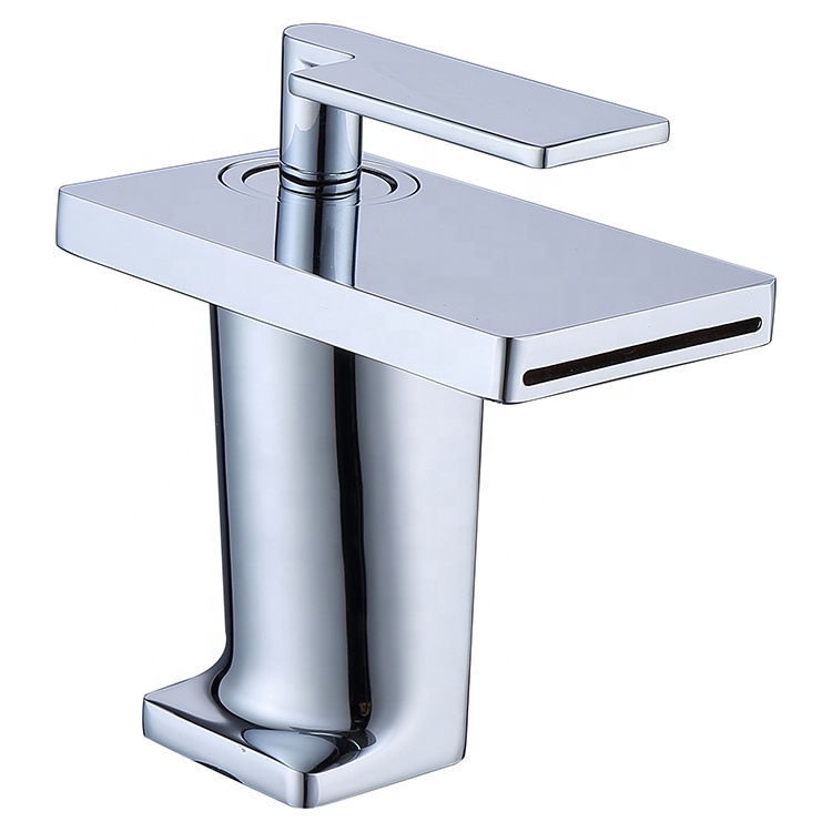 Original Factory Industry Korean Fancy Bathroom Brass Chrome Water Faucet Taps