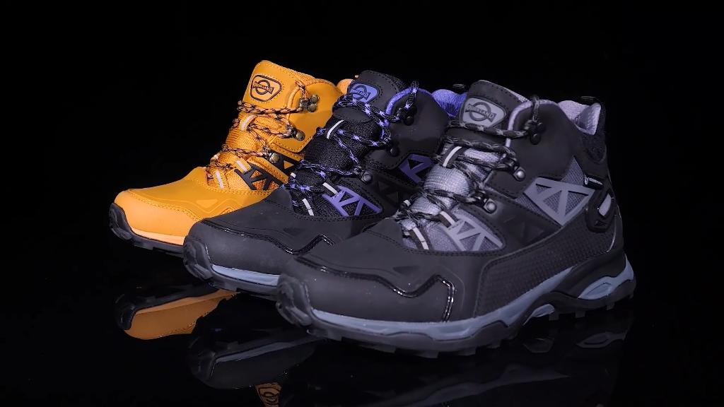 Waterproof Hiking Boots professional outdoor hike shoe  anti slip climbing trekking backpacking moutain boot  membrane  zapatos
