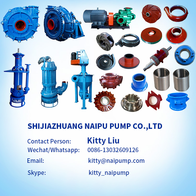 NaiPu SP / SPR Heavy Duty Vertical Sump Slurry Pump
