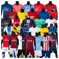 Thailand Quality Custom Soccer Set Jersey with Wholesale Price and Good Service