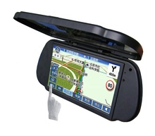 spiegel navigatie auto <span class=keywords><strong>gps</strong></span> 7 inch bluetooth perfectie auto