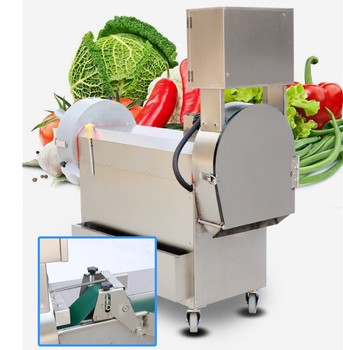 Low Price Multifunctional Chinese Vegetable CutterMachine/Carrot/Potato/Cabbage/Cucumber Cutter