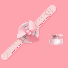 1 шт. Креативный новый вентилятор для часов USB зарядка ручной вентилятор мини-вентилятор для запястья детский студенческий ленивый вентилят...(Китай)