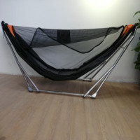 New Designed Ridge Rope Hammock With Fully Open Type Mosquito Net