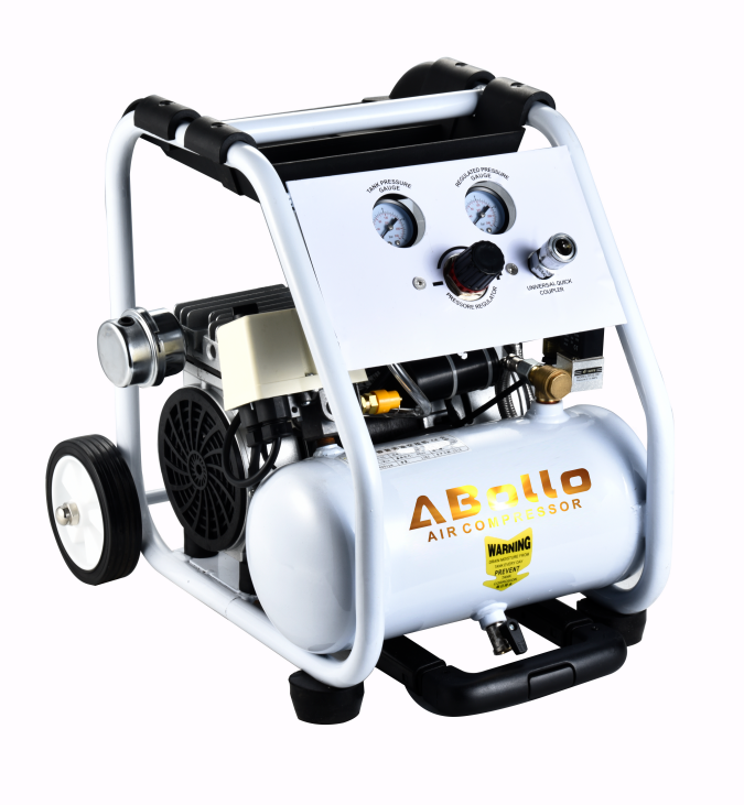 25L 550W Beste preis 110v mini kleine tragbare 1hp medical dental hervorragende ruhig stille oil free air kompressor