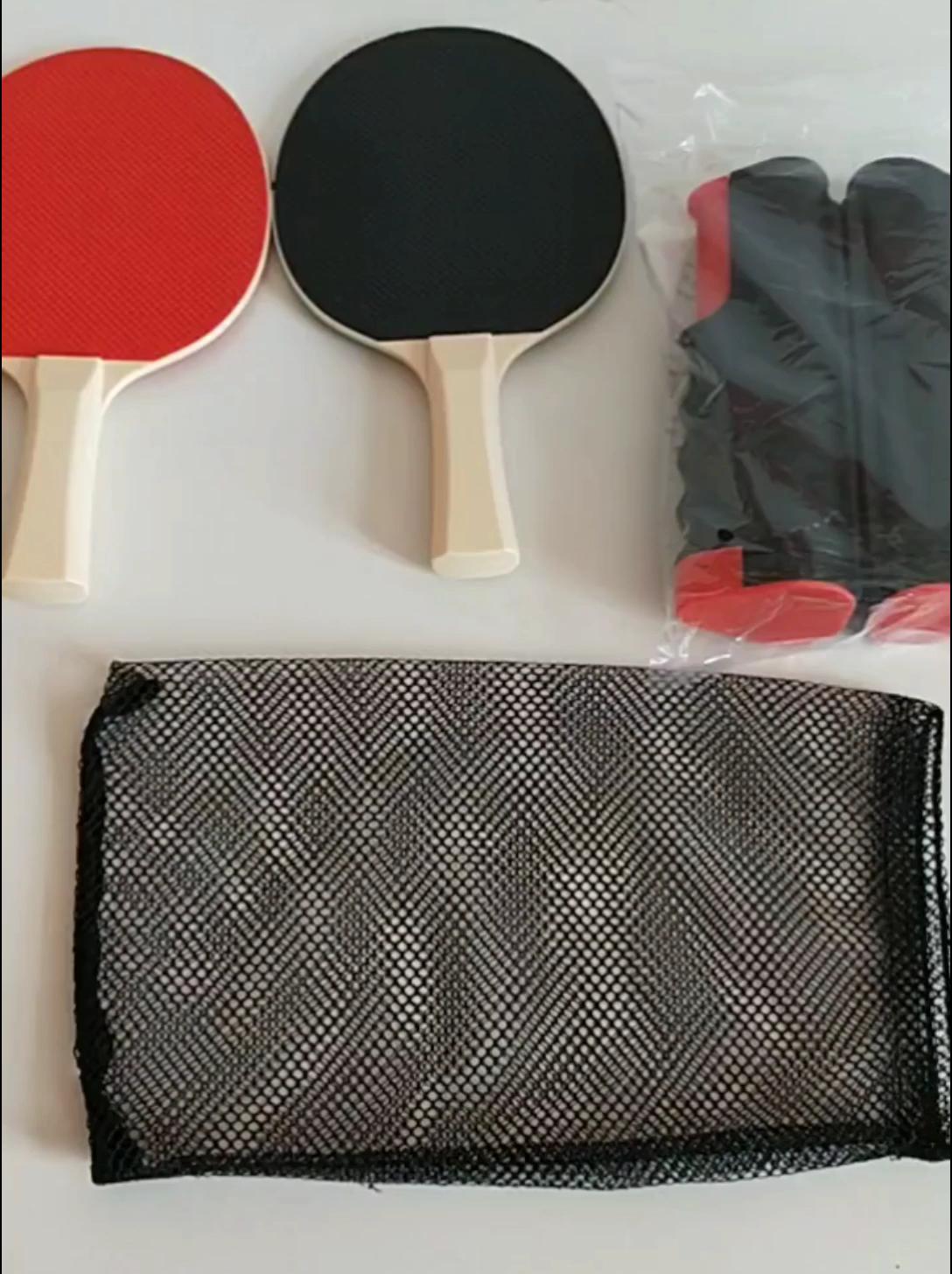 Pas cher En Caoutchouc Durable plastiques ping pong raquette de padel et motif imprimé hall d'exposition en plastique d'affichage de raquette de ping-pong