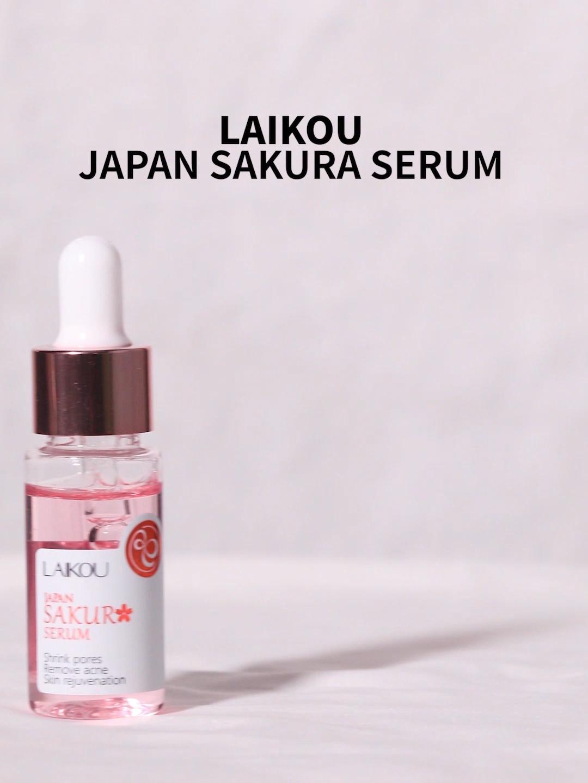 Laikou — soin pour la peau, lotion faciale blanchissante sakura, flacon de 17ml, possibilité de dropshipping