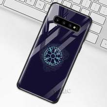 Чехол для samsung Galaxy S10 S10e S9 S8 Plus A70 A50 A30 Note 9 10 + 5G из закаленного стекла(Китай)