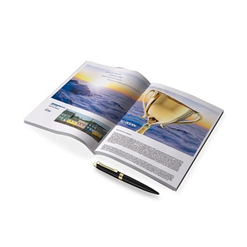 Different size electronic catalogue soft cover book printing coloring book printing service