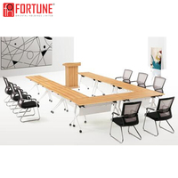 Modern U Shape Conference Table, Boardroom Meeting Table U Shaped (FOHE48-E)