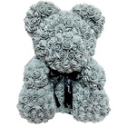 Cm 2020 Valentines's R High Quality Forever Eternal Flower Teddy Rose Bear 25 Cm With Gift BoxBear Heart Bea