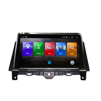 HD 9.66 Inch Android Car Multimedia GPS Navigation DVD Player For Honda Accord 8th With Bluetooth Radio AM/FM USB WiFi DVR DAB