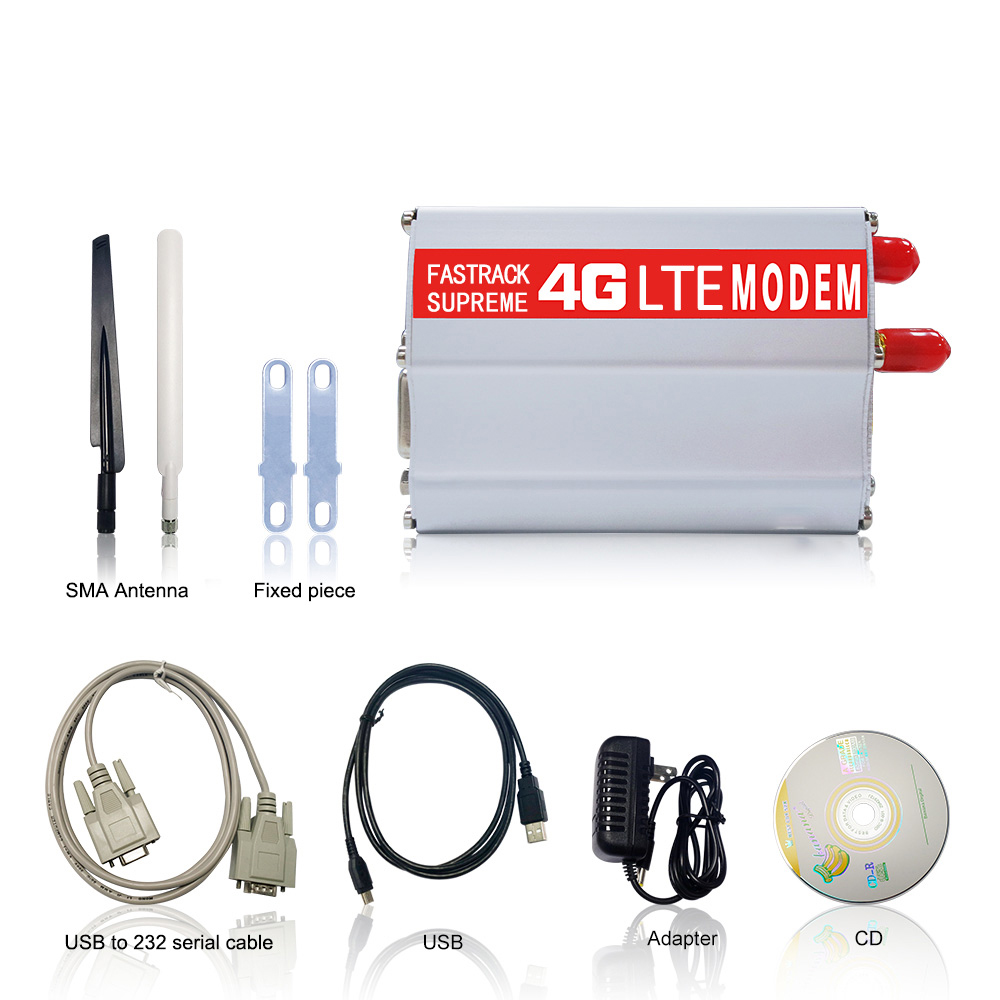 TCP IP Wireless RS232  & mini USB interface wireless 4g lte m2m modem for remote meter reading use in Industry
