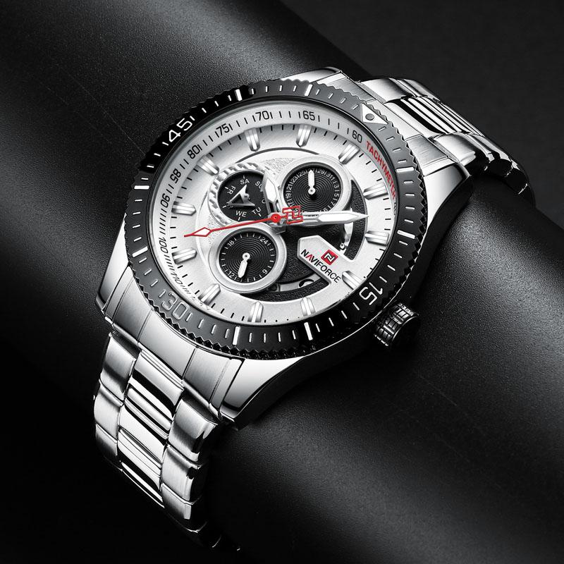 Naviforce 9140 Quartz Watch 4